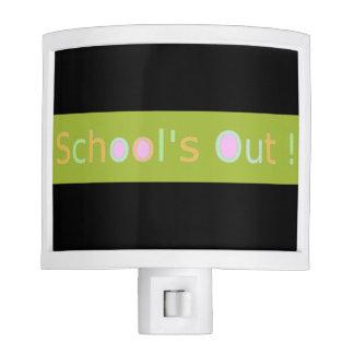 'School's Out' Teen Night Light