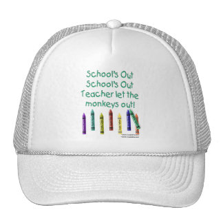Schools Out Trucker Hats