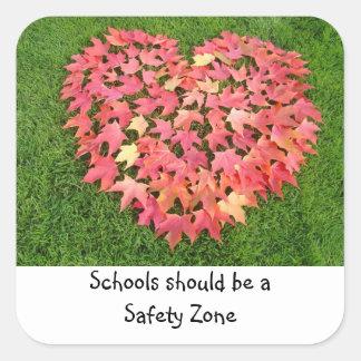 Schools should be a Safety Zone stickers Safe Kids