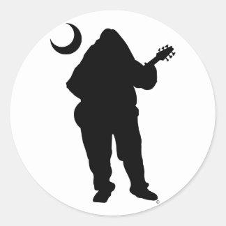 Schools Zone Bass- Classic Round Sticker