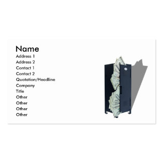 SchoolSportsFunds040309shadows, Name, Address 1... Double-Sided Standard Business Cards (Pack Of 100)