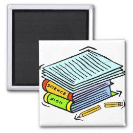 Schoolwork Pile Magnet