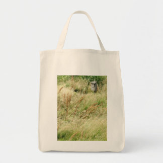 Schoolyard  Birdhouse Grocery Bag