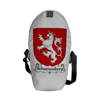 Schoonenberg Family Crest Messenger Bags