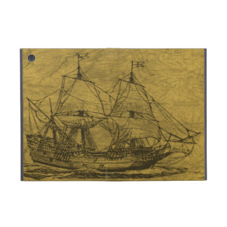 Schooner And Vintage Map iPad Mini Case