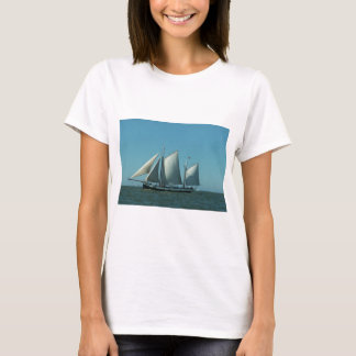 Schooner at Sea T-Shirt