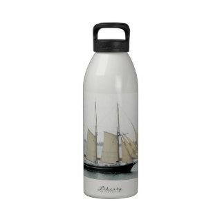Schooner at the Inlet Reusable Water Bottle