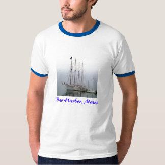Schooner, Bar Harbor, Maine T Shirt