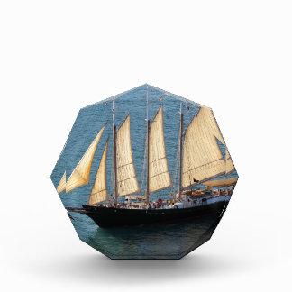 Schooner Boat Acrylic Award