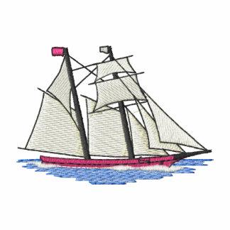 Schooner Camiseta Polo Bordada