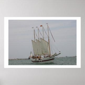 schooner chitown poster