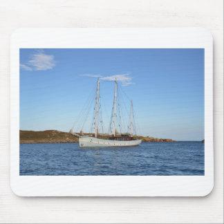 Schooner en las islas de Scilly Alfombrillas De Raton