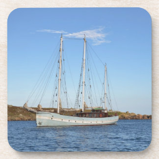 Schooner In The Isles Of Scilly Coaster