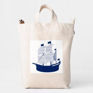 Schooner Navy Duck Canvas Bag