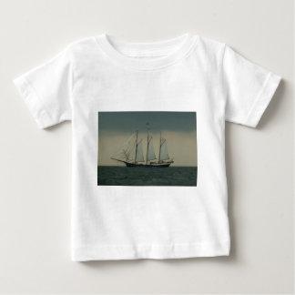 Schooner off the Dutch coast Baby T-Shirt