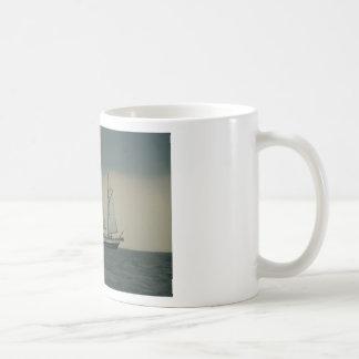 Schooner off the Dutch coast Classic White Coffee Mug