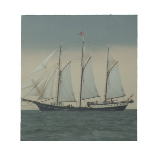 Schooner off the Dutch coast Memo Note Pad