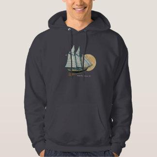 Schooner Yacht «America», 1851 Hoodie