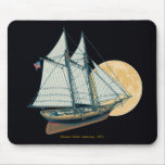 Schooner Yacht «America», 1851 Mouse Pads
