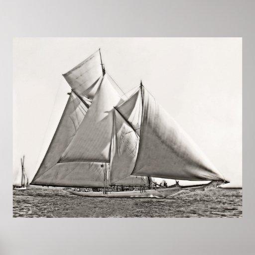 Schooner Yacht Constellation Poster