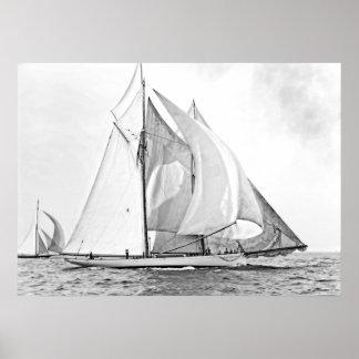"Schooner Yacht ""Mayflower"" Posters"