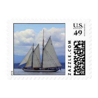 Schooner Zodiac Postage Stamp
