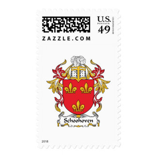 Schoonhoven Family Crest Stamps