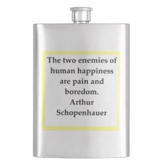 schopenhauer,arthur, flask