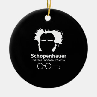 Schopenhauer Parerga Confidence ED. Ceramic Ornament