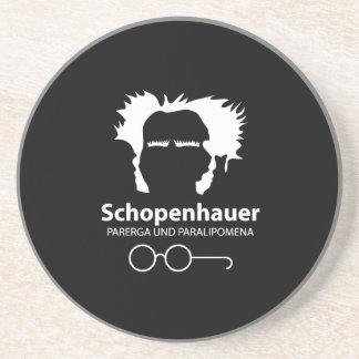 Schopenhauer Parerga Confidence ED. Drink Coaster