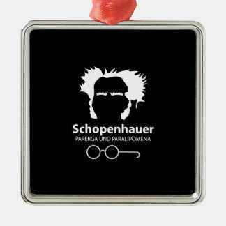 Schopenhauer Parerga Confidence ED. Metal Ornament