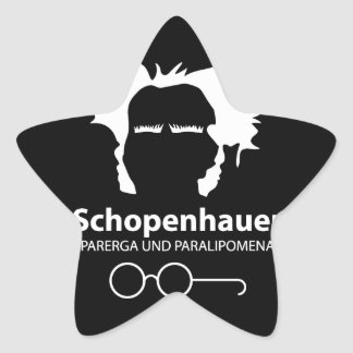 Schopenhauer Parerga Confidence ED. Star Sticker