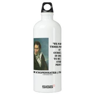 Schopenhauer perdemos tres cuartos nosotros mismos