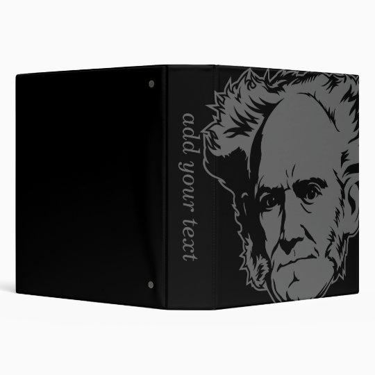 Schopenhauer Portrait Binder