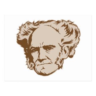 Schopenhauer Portrait Postcard