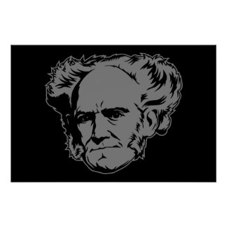 Schopenhauer Portrait Poster