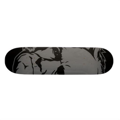 Schopenhauer Portrait Skate Boards