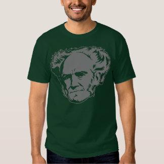 Schopenhauer Portrait Tee Shirts