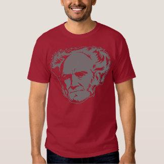 Schopenhauer Portrait Tees