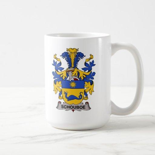 Schouboe Family Crest Classic White Coffee Mug