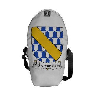 Schowenstein Family Crest Messenger Bags