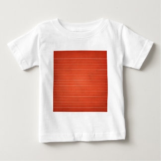 SCHPPR RICH RED RULED SCHOOL LINED PAPER EDUCATION BABY T-Shirt