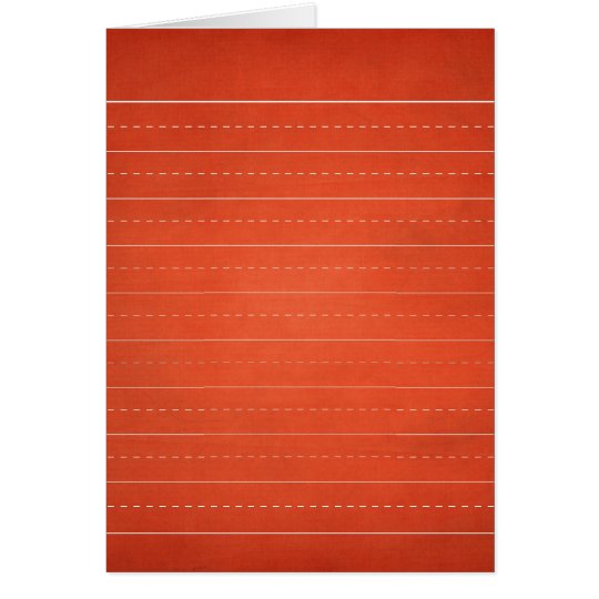 SCHPPR RICH RED RULED SCHOOL LINED PAPER EDUCATION CARD