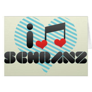 Schranz fan card
