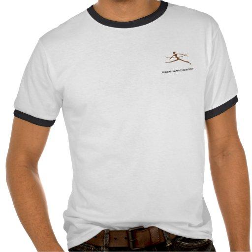 Schreckengost shirt with Primitive design