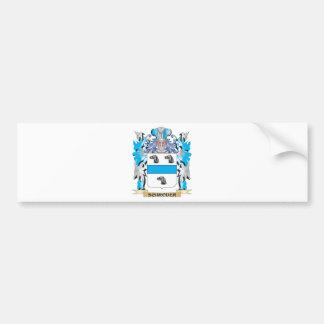 Schroder Coat of Arms - Family Crest Bumper Sticker