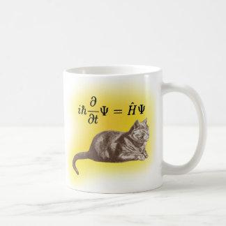 Schrodinger cat coffee mug