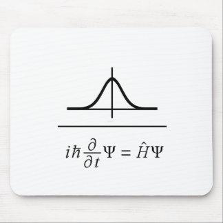 Schrodinger Equation Mouse Pad
