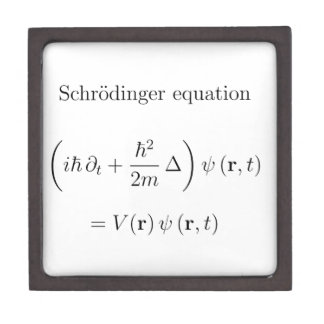 Schrodinger equation with name premium gift boxes