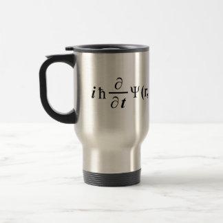 Schrödinger Gleichung Schrodingers equation Travel Mug